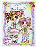 Sherri Baldy My Besties Messy Bessy Jessy Coloring Book