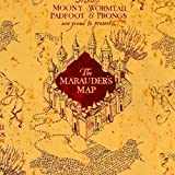 Camelot Harry Potter Basteln Baumwolle Stoff - Marauders