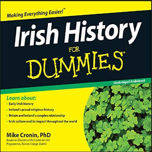 Irish History for Dummies audiobook cover art