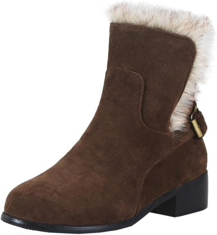 KemeKiss Women Fashion Autumn Boots Pull On