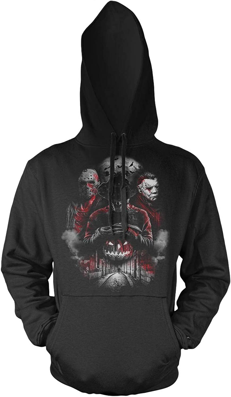 Uglyshirt89 Nightmare Gang Männer und Herren Kapuzenpullover   Frotdy Michael Myers Jason Voorhees B07GVFXXNP  Kostenlos