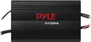Pyle Hydra Marine Amplifier - Upgraded Elite Series 800 Watt 4 Channel Micro Amplifier - Waterproof, GAIN Level Controls, RCA Stereo Input, 3.5mm Jack, MP3 & Volume Control (PLMRMP3B)