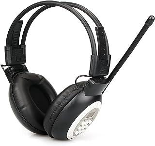 Retekess TR101 Walkman Headphone Radio FM Stereo Headset Radio Receiver Digital FM Hearing Protector Earmuff Support AUX I...