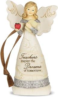 "Pavilion Gift Company 82344 Elements ""Teacher"" Angel Figurine, 4-1/2-Inch"