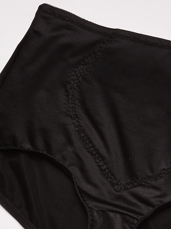 Bali Women's Jacquard Mesh Tummy Panel Firm Control Shapewear Brief 2-Pack Fajas DFX710
