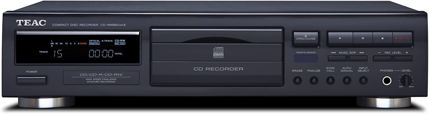 Teac All items in the store CD-RW890MK2-BTEAC 25% OFF CD-RW890MK2 Home Audio Blac - CD Recorder