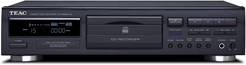 Teac CD-RW890MK2-BTEAC CD-RW890MK2 Home Audio CD Recorder – Black
