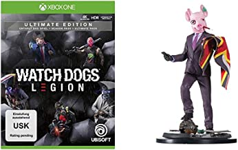 Watch Dogs Legion Ultimate Edition - [Xbox One] + The Resistant of London Figur