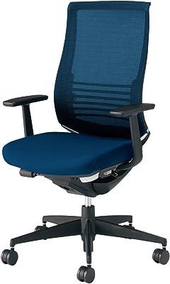 コクヨ ベゼル イス オフィスチェア プルシアンブルー ファンクショナルタイプ デスクチェア 事務椅子 ハイエンドモデル CR-2823E6GMT6-W 【ラクラク納品サービス】