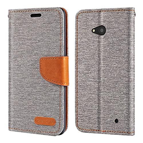 Custodia a portafoglio in pelle Oxford per Nokia Lumia 640 LTE