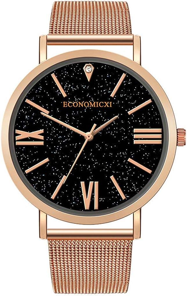 Relojes Hombre Elegante Accesorio 2020 Mejor Regalo,Relojes De Pulsera De Cuarzo para Hombres Reloj De Correa De Malla De La Serie Casual Y BusinessModa