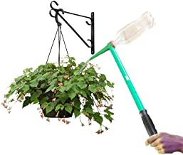 "Massca Hanging Plant Waterer - for Indoor and Outdoor Plants - 16"" Handled Funnel for Long Reach - Works with Standard Sod..."