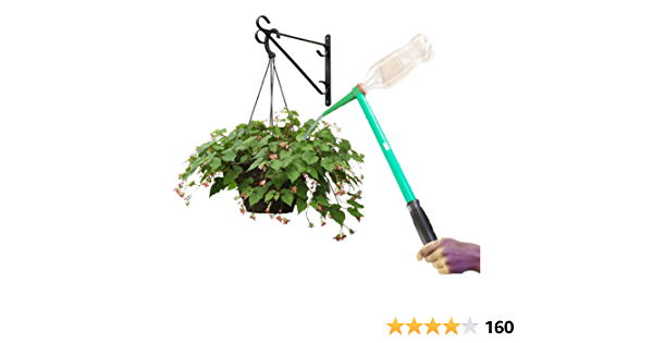 for Indoor and Outdoor Plants Massca Hanging Plant Waterer Works with Standard Soda Bottles 16 Handled Funnel for Long Reach