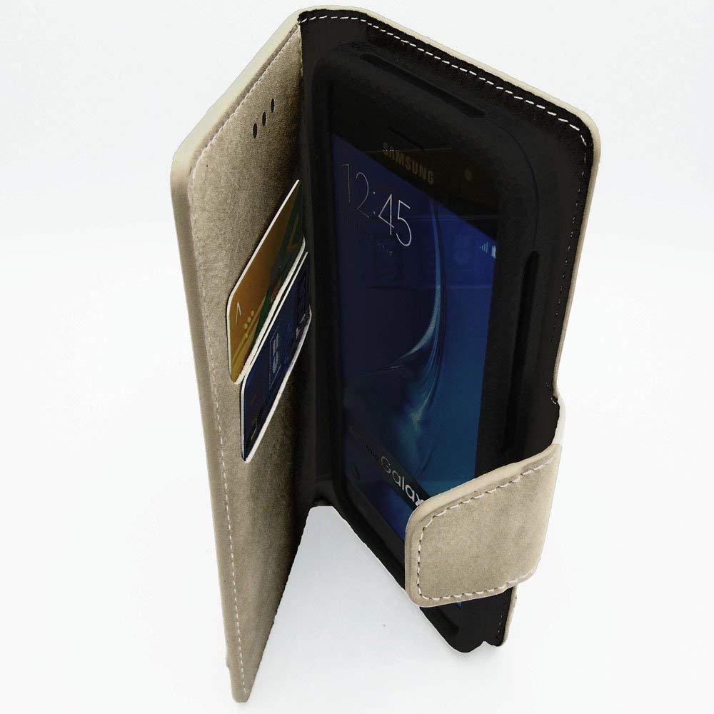 Funda Compatible con QILIVE Smartphone Q4 5.0 - Oro: Amazon.es ...