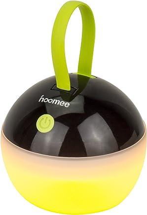 HOOMEE Lanterne portable LED Anti-moustique - Petite lampe rechargeable USB ronde – Prix Red Dot - Parfait pour les activités Intérieures ou Extérieures - Imperméable à l'eau 4 modes d'éclairage