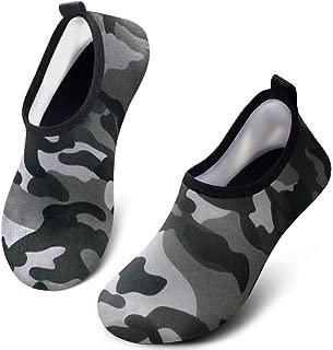Toddler Kids Water Shoes Quick Dry Non Slip Barefoot Aqua Socks Beach Swim Shoes for Boys Girls