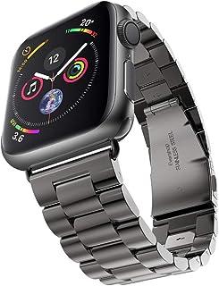 Apple Watch 金属ベルト Evershop 44mm/42mm ステンレス アップルウォッチ ベルト ビジネス風 時計バンド アップルウォッチ バンド 腕時計ストラップ バンド調整 series 1 series 2 series 3...