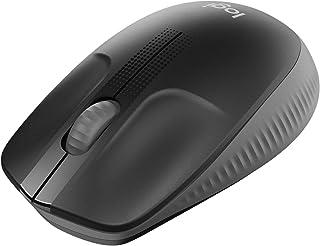 ロジクール フルサイズ ワイヤレス マウス M190BK ワイヤレスマウス 左右対称 無線 USB windows mac chrome M190 ブラック 国内正規品 2年間無償保証