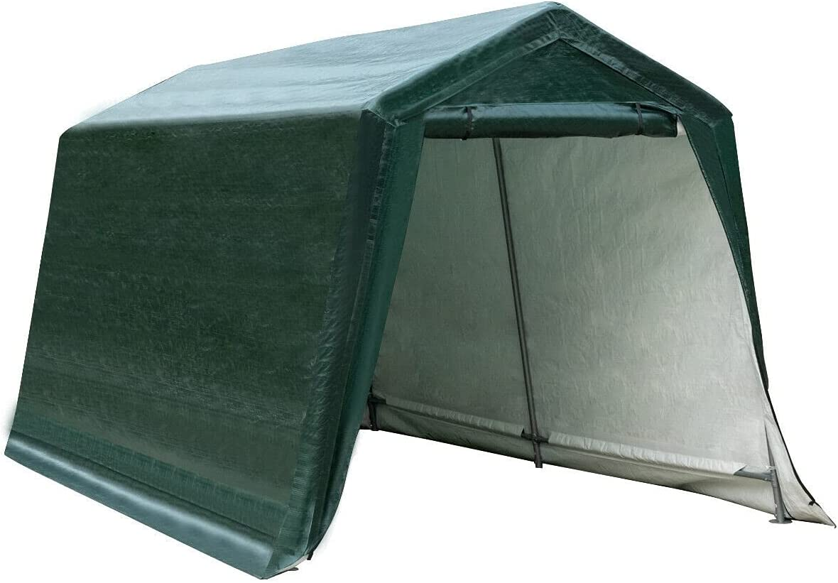Financial sales sale Storage Sheds Shipping included 8'x14' Patio Tent Shelter Shed Carport Car
