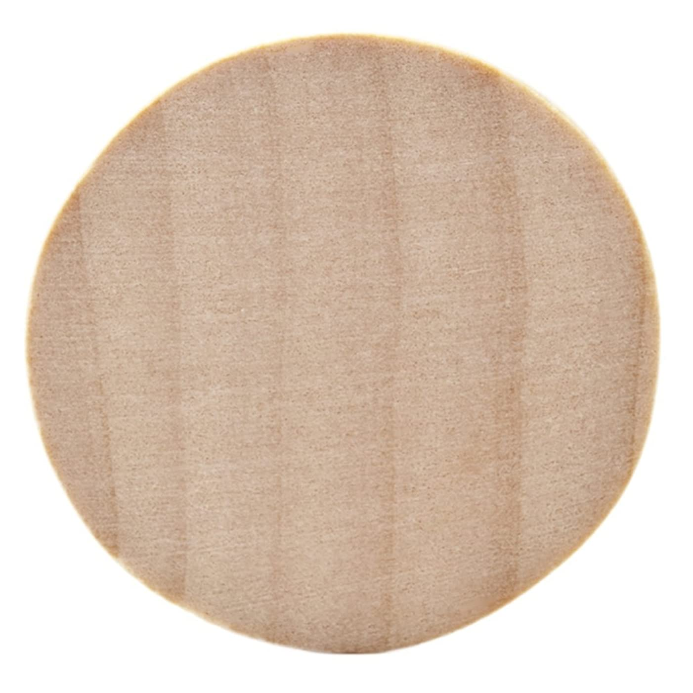 Natural Unfinished Round Wood Circle Cutout 1.5 Inch - Bag of 100
