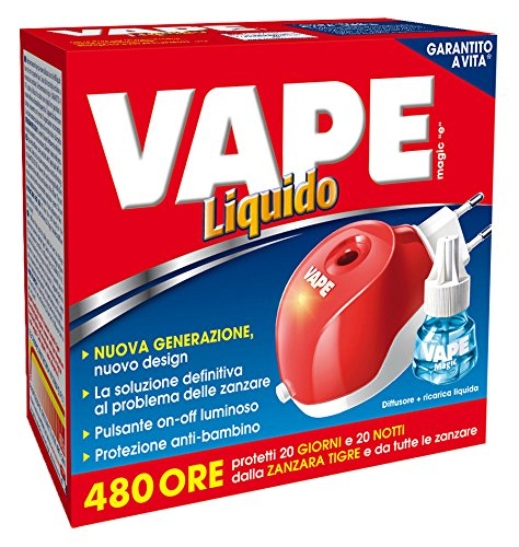 VAPE MAGIC ELETTROEMANATORE+LIQUIDO 480 ORE