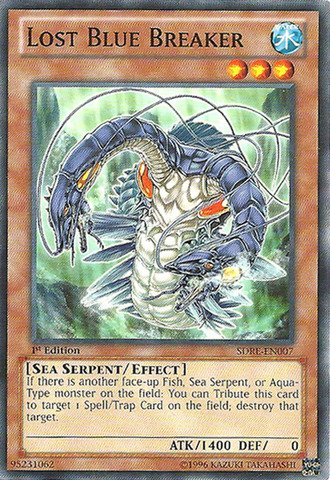 Yu-Gi-Oh! - Lost Blue Breaker (SDRE-EN007) - Structure Deck: Realm of The Sea Emperor - 1st Edition - Common