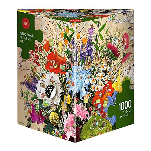 "Heye 29787 ""Flower's Life Degano Triangular Puzzle (1000-Piece)"