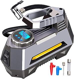 Car Air Compressor,Portable Inflatable Pump 12V Automobile Tire Inflator Mini Electric Auto For Travel Boat Air Compressor...