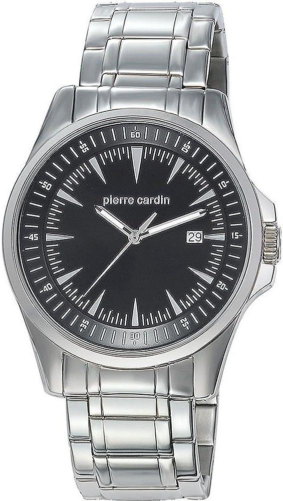 Pierre cardin special collection,orologio per uomo,in acciaio inossidabile PC104521S01