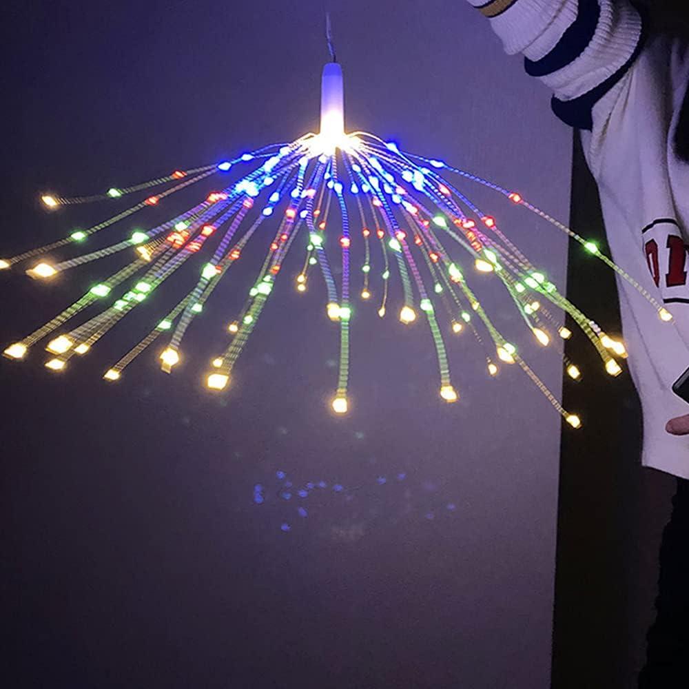DAS LEBEN LED Dandelion Fairy Firework S Fort Worth Mall Lights, Copper Louisville-Jefferson County Mall String