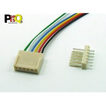 Female 4 Poly 10 Pieces-mx254 connectors
