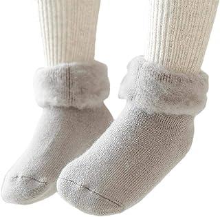 Kakoop, 1 par de calcetines cálidos de invierno para niños de 0 a 3 años