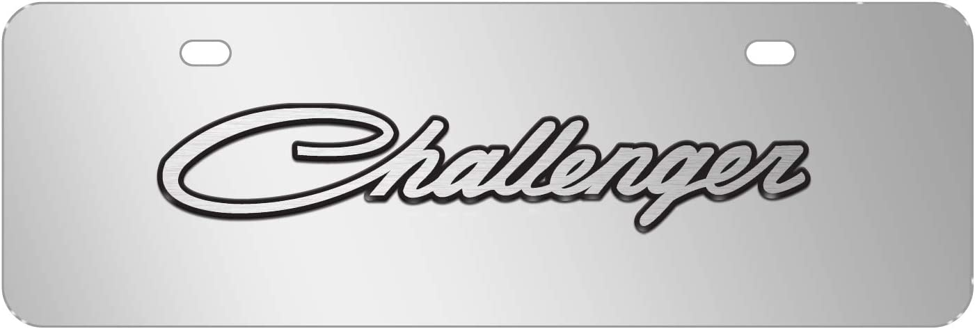 Challenge the lowest price of Japan iPick Image famous for - Dodge Challenger Classic 3D Chrome on Logo 12