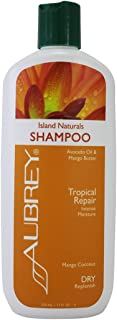 Aubrey Island Botanicals Shampoo | Frizz Control, Softens & Defines Curls | Avocado Oil & Mango Butter | 75% Organic Ingredients (11 oz)
