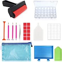 22 Pieces 5D Diamonds Painting Tools and Accessories Kits with Diamond Painting Roller..