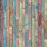 d-c-fix, Folie, Design Rio buntes Holz, selbstklebend, 45 x 200 cm