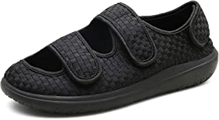 Hombre Sandalias Diabéticas Mujer Zapatillas Zapatos Diabeticos Antibacteriano Sanitized Ajustable Edema Zapatos hinchados...
