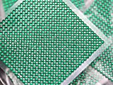 Allstarco Selbstklebende Acryl-Strasssteine, SS12, 3 mm, Grün / Smaragd, zum Aufkleben, für...