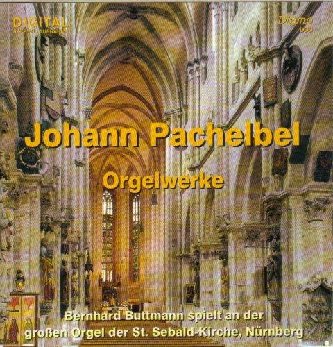 Pachelbel: Orgelwerke - Bernhard Buttmann spielt and der Orgel der St. Sebald-Kirche Nürnberg
