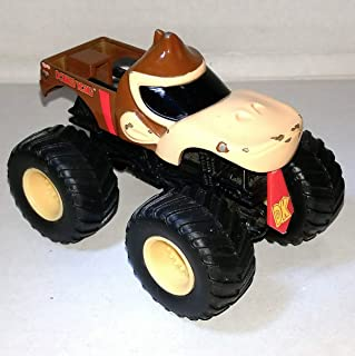 DONKEY KONG HTF HOT WHEELS MONSTER JAM TRUCK 1/64