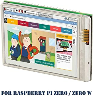 Raspberry Pi Zero W Screen, iUniker 2.8-inch 60+ fps 640x480 High Resolution Raspberry Pi Zero Touchscreen HD Raspberry Pi Screen High Speed Pi Display Shield For Raspberry Pi Zero Raspberry Pi Zero W