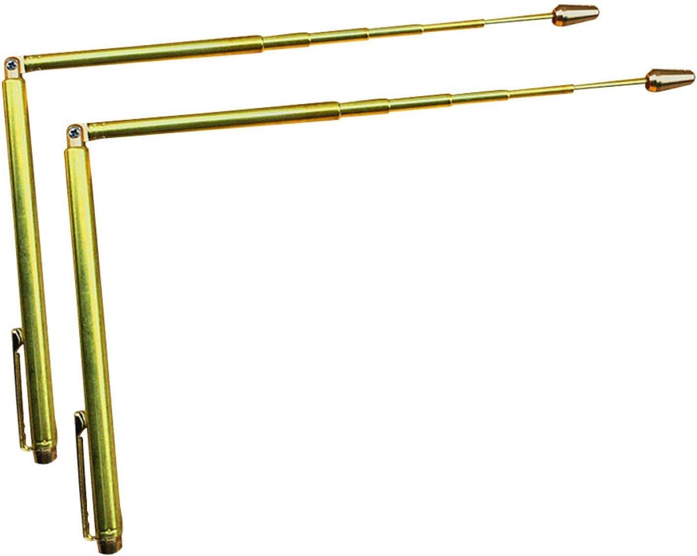 2pcs Brass trend rank Dowsing Rods Divining Traci High quality new Treasure for Seeking