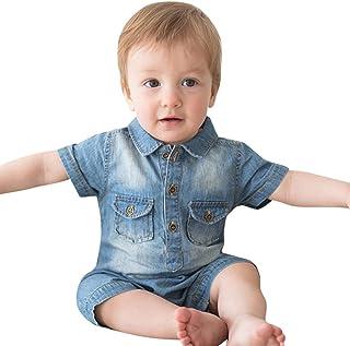 Allegorly Alles Gute zum ersten Vatertag Papa Herz Vater Baby Geschenk Baby Kurze /Ärmel Body Strampler Jumpsuit Overall 0-18 Monate