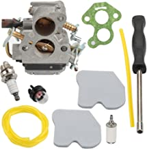 Harbot Carburetor with Air Filter Fuel Line Filter for Husqvarna 235 235E 236 236E 240 240E Chainsaw Jonsered CS2234 CS2238 CS2234S CS2238S Replace # 574719402 545072601 Carb