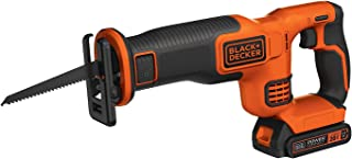 BLACK+DECKER 20V MAX Kit de sierra de alternancia inalámbrico (BDCR20C)