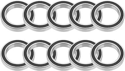 4 mm Rodamientos R/ígidos de Bolas para M/áquina de Hilar 13 Akozon 695 ZrO2 Cer/ámica Completa 5