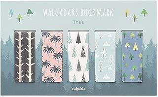 Monolike Magnetic Bookmarks Tree, Set of 5