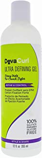 DevaCurl Ultra Defining Gel; Control Curly Hair