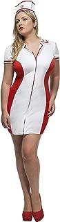 Smiffys Fever Women's Plus Size Nurse Costume