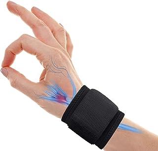 Wrist Brace Carpal Tunnel, Adjustable Wrist Support for Arthritis and Tendinitis Pain Relief - Ergonomic Hand Wrist Wraps ...